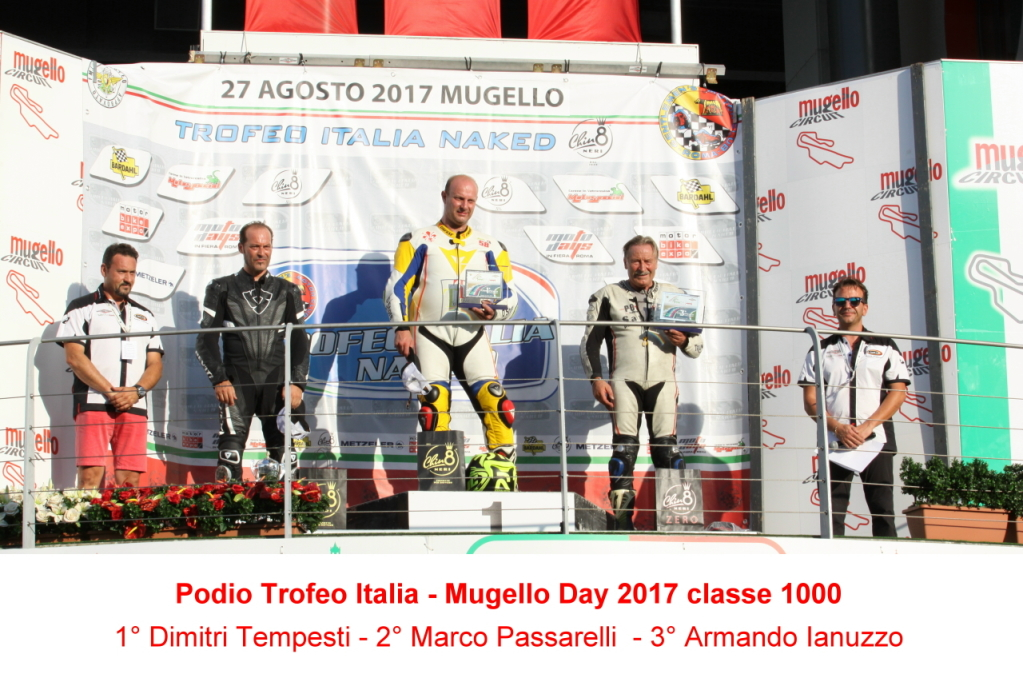 Podio Mugello Day - 1000