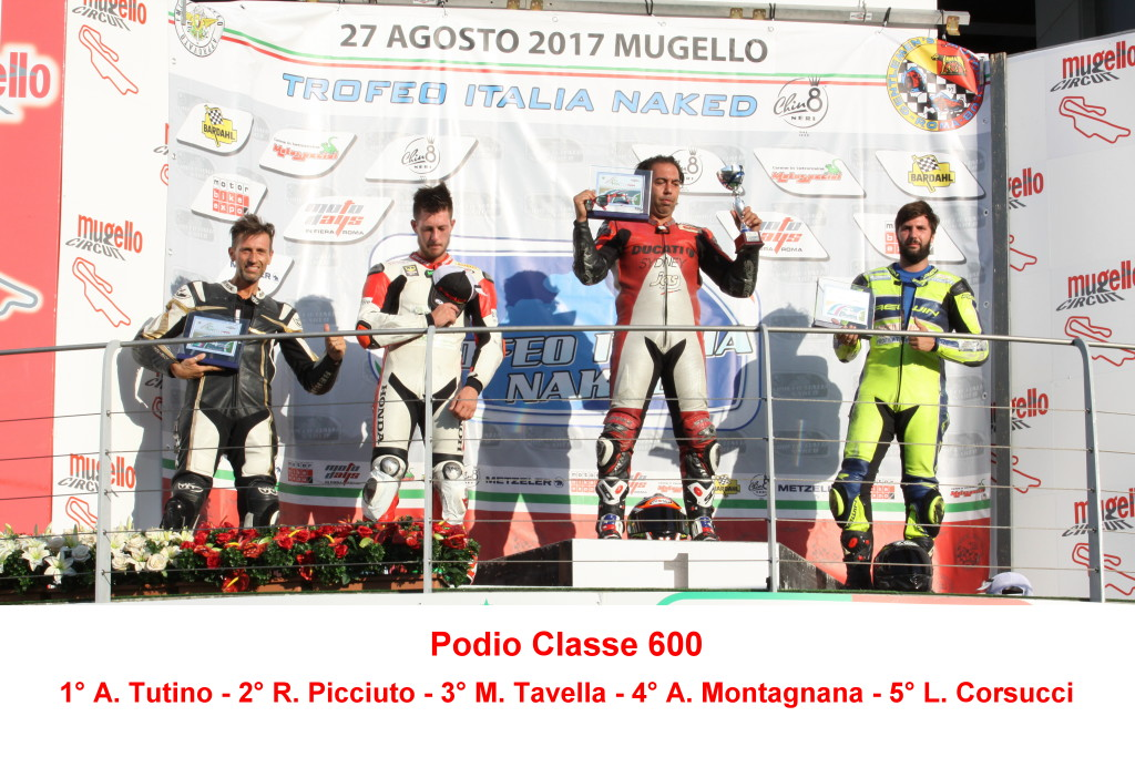 Podio Mugello Day 600